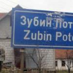 Бомба на бензинској пумпи у Зубином Потоку