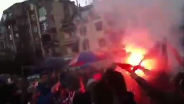 paljenje srpske zastave