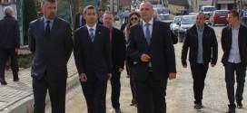 Петровић обишао радове у улици ка Падалишту