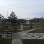 У кратком периоду оштећен парк испред Дома културе