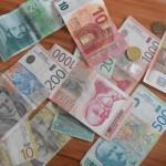 Евро данас 122,75 динара