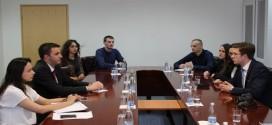 Стојановић са студентима ФПН изБеограда