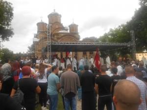 У Грачаници служена свечана Видовданска литургија