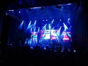 Краљево: Завршница Aero Rock фестивала