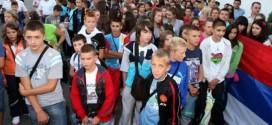 Деца са КиМ данас у посети Влади Републике Српске
