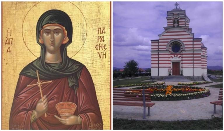 Света Петка – храмовна слава цркве у Лапљем Селу
