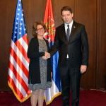 Ђурић са заменицом помоћника државног секретара САД о КиМ