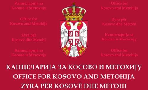 Канцеларија за Косово и Метохију захтева да жртве политичког прогона буду пуштене на слободу