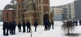 Студенти поново протестовали испред храма Христа Спаса у Приштини