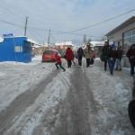 Грачаница: Улице клизаве – пешаци опрез