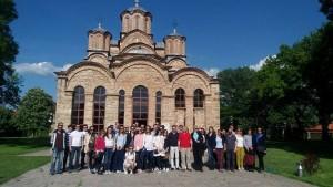 Diplomci MSP u poseti manastiru