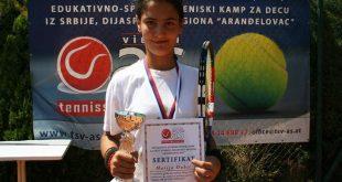 Успех тенисера из Грачанице на турниру у Аранђеловцу