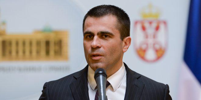 Mилићевић захвалио Словачкоj на подршци око KиM