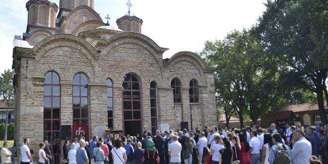 Светом литургијом почела прослава Дана општине Грачаница