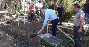 Градоначелник положио камен темељац за изградњу куће породици Јовановић