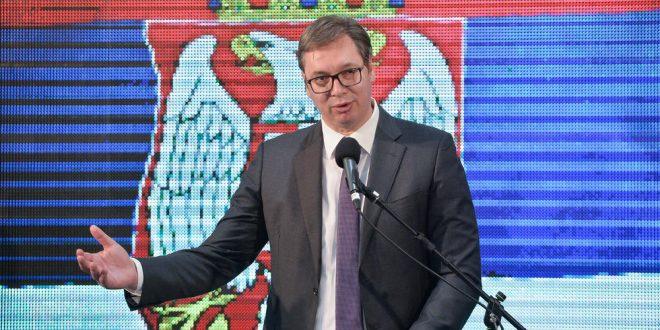 Вучић у Лесковцу за РТВ Грачаница: Србија ће увек пронаћи начин да помогне свој народ на КиМ