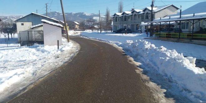 Снега све мање- путари у општини  Грачаница на висини задатка