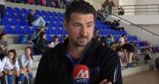 Вања Грбић извео показни тренинг у спортској хали у Лапљем Селу