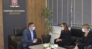 Срђан Поповић разговарао са представницом УНДП Мариом Суокко и кординаторком УН на Косову Урликом Рикардсон