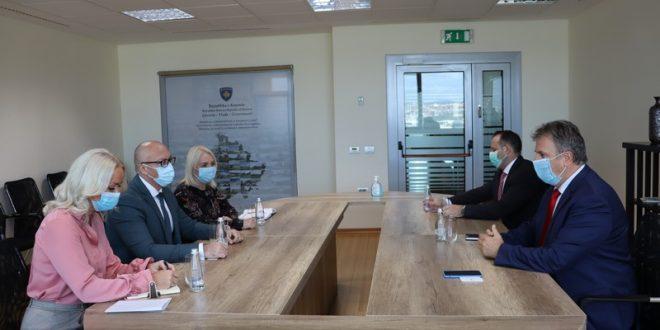 Горан Ракић са мађарским амбасадором