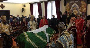 Опроштај од патријарха Иринеја, сахрана у Храму Светог Саве