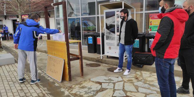 Представници цивилног сектора перформансом исказали незадовољство и пружили подршку оцу Луке Димитријевића
