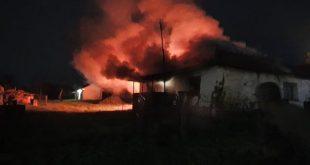 Изгорела кућа Мирослава Тепшића у Старом Грацку
